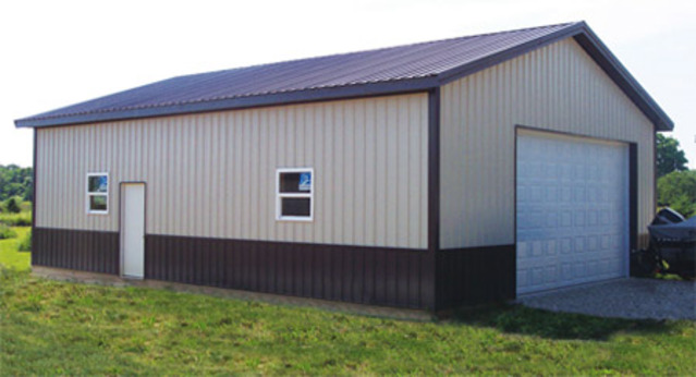 Pole barn kits washington wa pole building packages for Garage building packages