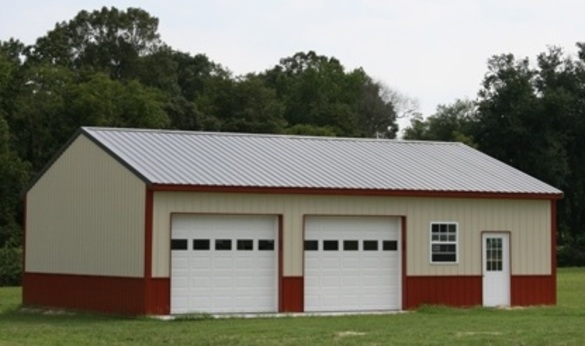 Pole barn kits missouri mo pole building packages for Pole garage pictures