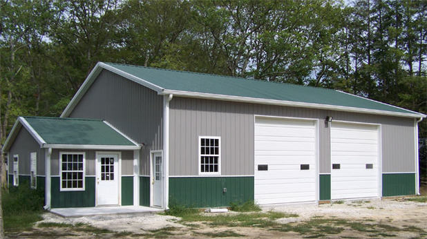 Pole barn kits virginia va pole building packages for Pole building images